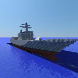 Arleigh Burke-class destroyer Minecraft Project