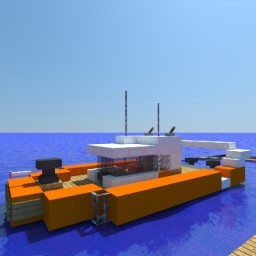 Defender-class boat Minecraft Project