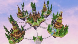 Anchored - Fall of the Fountain World Minecraft Map & Project