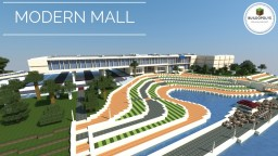 MODERN MALL - Buildopolys Minecraft Map & Project