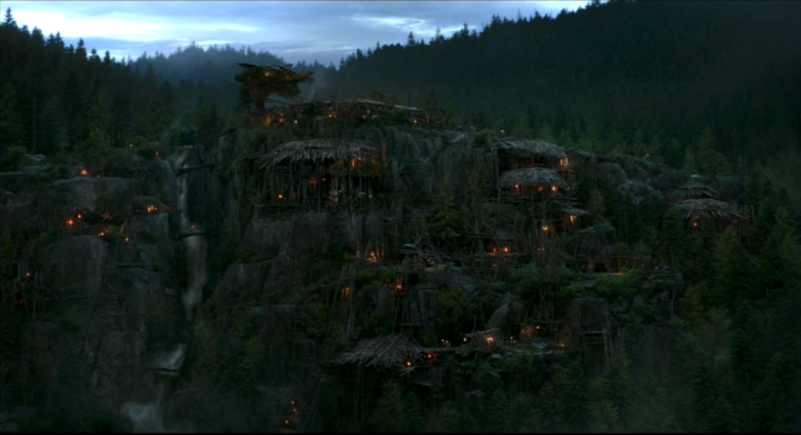 Ape Village as seen from Dawn of the Planet of the Apes