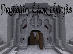 Drûedain Iaur-thamas - Great Olden Hall of the Drû-folk Minecraft