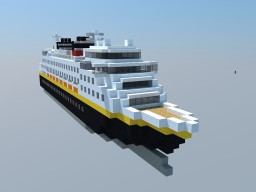 Disney Dream - MicroShips Minecraft Map & Project