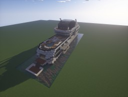 Admiral X Force 145 (Yacht) Minecraft Project