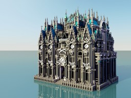 Gray Structure Thingi Minecraft Map & Project