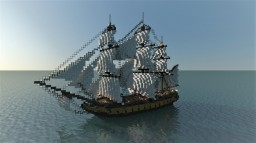 HM Frigate Lydia (36 guns) Minecraft Project