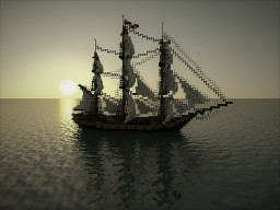 HM Sloop Hotspur. 20 Gun Sloop Of War Minecraft Map & Project
