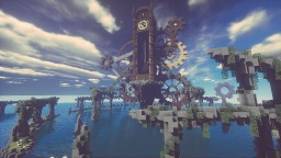 【timelapse】HUGE FANTASY CLOCK TOWER Minecraft Map & Project