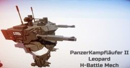 PanzerKampfläufer II Leopard Heavy Battle Mech Minecraft Map & Project