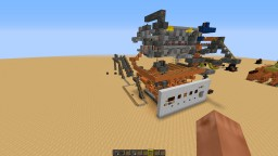 Bulk item transportation system the link for download is on my youtube channel Minecraft Map & Project