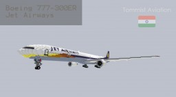 Boeing 777-300ER Jet Airways [Indian Aviation EP] [+Schematic] Minecraft Project