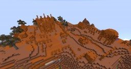 Koth Arenisca Minecraft Map & Project