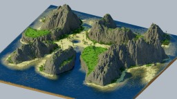 King Skull Island - streamed build Minecraft Project