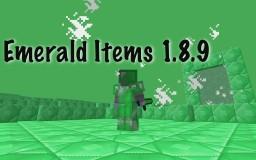 Emerald Items 1.8.9 Minecraft Mod