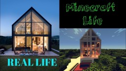 Redstone Modern House Minecraft Project
