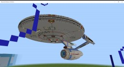 USS Enterprise Refit with download(Windows 10 Edition) Minecraft Map & Project