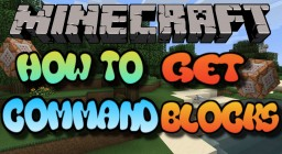 Minecraft Xbox - How To Get Working Command Blocks Minecraft Map & Project