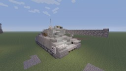 R.D.O StaG VI Heavy tank Minecraft Project
