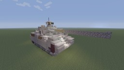 R.D.O StaG VII Duke Elk Heavy tank Minecraft Project