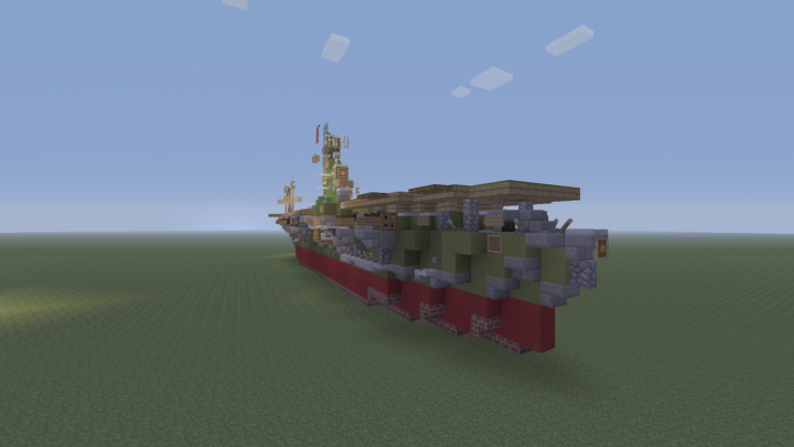 Ijn zuikaku aircraft carrier bathtub build minecraft project sciox Images