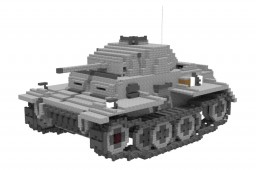 German panzerkampfwagen 2 ausf j (10:1) Minecraft Project