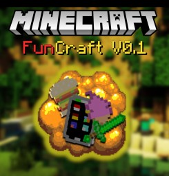 FunCraft V0.2 TOOL UPDATE!! Minecraft Texture Pack