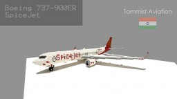 Boeing 737-9GL(ER) SpiceJet [Indian Aviation EP] [+Schematic] Minecraft Project