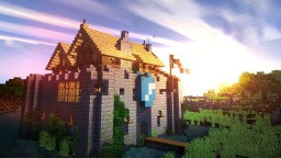 Fortified Manor - Tamworth Hall Minecraft Map & Project