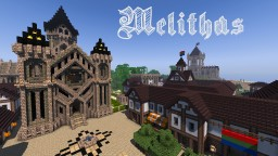 Medieval Fantasy Town: Melithas Minecraft Map & Project