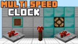 MULTI-SPEED REDSTONE CLOCK Minecraft Blog Post