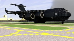 S.H.I.E.L.D. The Bus Airplane Minecraft