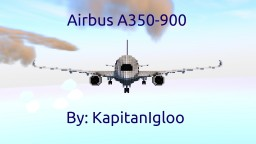 3:1 Scale | Airbus A350-900 | Lufthansa Minecraft Project