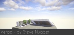 Verge - A modern concept house Minecraft Map & Project