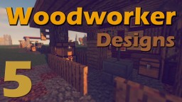 5 Woodworker Designs to Expand your city Minecraft Map & Project