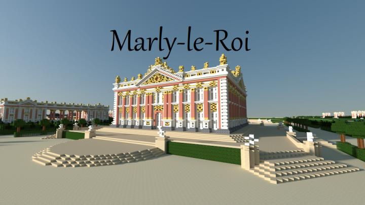 Pavillon Royal et le Batiment de la Perspective