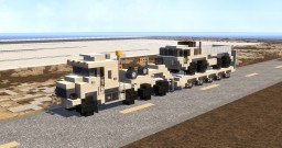 Oshkosh M1070 8x8 Minecraft Map & Project