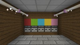 Color Coded Lock Minecraft Map & Project
