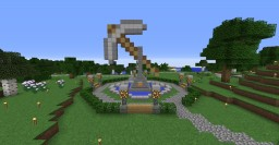 Spawn fountain! Minecraft Project