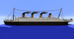 The Ultimate Titanic - 2.3:1 - Full Interior - High Detail Minecraft Project