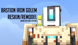 IronGolem Bastion Overwatch Retexture (and Remodel) Minecraft