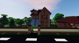 [FR/EN] Maison Anglaise / English House Minecraft Map & Project