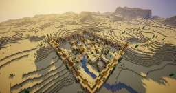 Arkadia: Desert Oasis is finally here! Minecraft Map & Project
