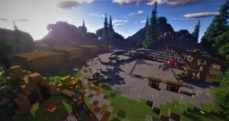 Economy Survival Server Spawn Minecraft Map & Project