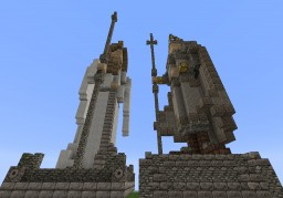 THE QUEEN & THE KING Minecraft Map & Project