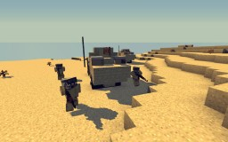 BRDM-2 1,5:1 scale Minecraft Project
