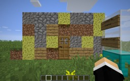 Redstone Dirt House Minecraft Project