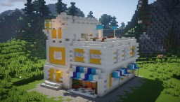 🌅Sunrise Supermarket🌅(INSPIRED BY LEGO) Minecraft