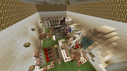Functioning XP Bank With Custom Pin Numbers and up to 4 Bank Accounts Minecraft Map & Project