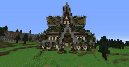 Big Nordic / Viking House Minecraft Map & Project