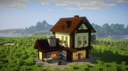 Small Blacksmith (medieval theme) (1) Minecraft Map & Project